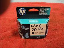 HP 20 Printer Cartridge, Black, New