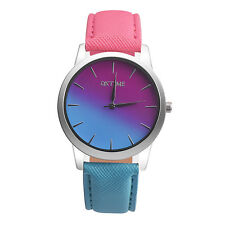 Geneva Retro Women Watch Leather Casual Analog Alloy Quartz Wrist Watches
