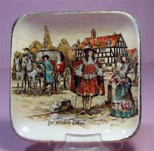 Trinket / Butter DISH 'De Olden Days' - Lancaster & Sandland Pottery     SirH70