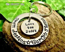 PERSONALIZZATO portachiavi idea regalo per bambini o a papà Nanny PADRE MAN