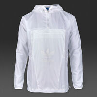 Adidas Originals Bleached Out Windbreaker Jacket Sizes M to XL White B45885