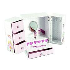 Floss & Rock Fairy Unicorn Musical Wardrobe Jewellery Trinket Box Girls Gift