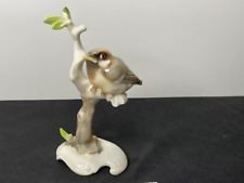 Hutschenreuther K Tutter Finch On Branch Figurine