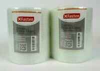 2-PACK XFasten Drywall Repair Fabric Tape Self Adhesive, 6-Inch by 90-Foot - NEW