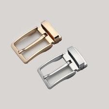 Stainless Steel Pin Belt Buckle Belt Fastener Brushed Leather Craft Hardware