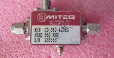 Miteq Cd-960-42960 960Mhz 15dB Sma Rf bi-directional coupler with detector