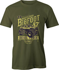 Camiseta Retro de Monster Truck Bigfoot