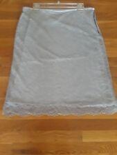 NEW! GEORGE DESIGNS Beautiful Women Summer Skirt Light Gray size 14