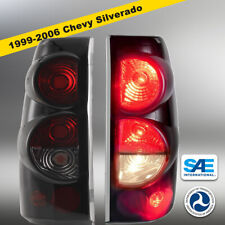 1999-2006 Chevy Silverado 99-03 GMC Sierra Pair Tail Lights Replacement Assembly