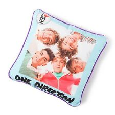 "One Direction Purple Sparkle Pillow 1D Group Photo 15"" x 15"" - NWT"