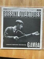 Rossini: Overtures - Pierino Gamba / LSO **Decca SXL 2266 WBg Near Mint
