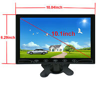 HD Ultra Thin 10.1'' 1024*600 TFT LCD HDMI VGA Audio Video Car Rear View Monitor