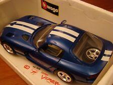 1/18 Dodge Viper GTS Coupe Blue 8.0 Litre V10 1996
