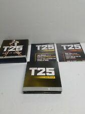 Beachbody Focus T25 Dvd Set Alpha + Beta Workout 10-disc