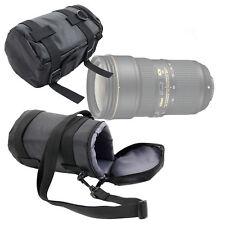 Black Protective Carry Case / Bag for Nikon AF-S NIKKOR 24-70mm f/2.8E ED VR