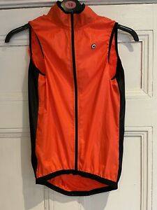 Assos Of Switzerland Mille GT Wind Vest Gilet Mens Size XS