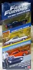 Fast and Furious Diecast Vehicle 3-PACK Dom's Torque Pack Brand NEW