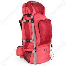 Scout Tech Gran Route 80L Pink Backpack - Hiking, Camping and Travelling