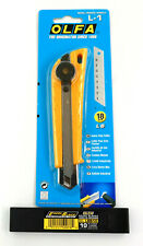 OLFA L-1 Profi Cutter Messer Grafikmesser Abbrechmesser + 10 Klingenstreifen NEU