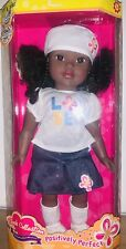 """Positively Perfect Divah Collection Abrielle Doll 18"""" Nib"""