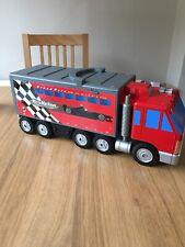 Micro Machines Grand Prix Lorry Truck Playset 1999 Vintage
