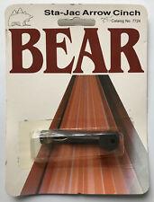 New listing NOS Vintage Fred Bear Archery Sta-Jac Arrow Cinch Traditional & Recurve Bows