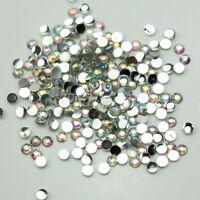 1Pack  2mm Resin Flat Back Crystal Rhinestones Diamante Gems For Nail Art Crafts