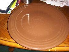 "Fiestaware 9"" Lunch Plates Chocolate"