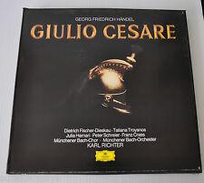 - GEORG FRIEDRICH HANDEL: GIULIO CESARE LP Box Set Karl Richter Classical -