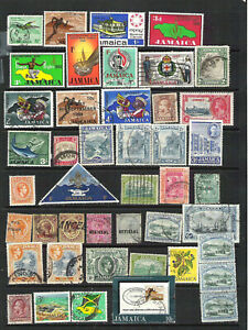 Jamaica Mint Hinged & Used  Stamps