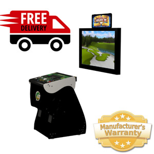2021 Golden Tee HOME EDITION LIVE Golf Arcade IT Factory Pedestal FREE SHIP