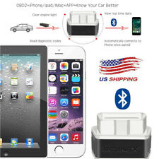Bluetooth OBD2 Scanner Code Reader Automotive Diagnostic Tool Car OBDII For IOS