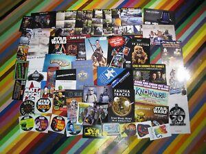 Star Wars Celebration media Memorabilia Guides promo flyers