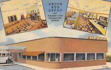 Manhattan KS~Union Bus Depot~Warren Cafe~Pinball Machines~Juke Boxes? Art Deco