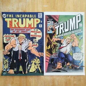 THE INCAPABLE TRUMP SIGNED PROMO POSTER PRINTS 11x17 (2 PACK) NEW YORK COMIC CON