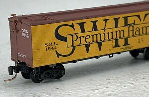 Z Scale Micro-trains Swift Refrigerator Line 40' Wood Reefer RD# 1944 NIB! IC043