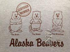NEW ALASKA BEAVERS T SHIRT XL