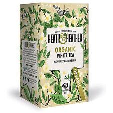 Heath & Heather Organic White Tea - 20 Bags