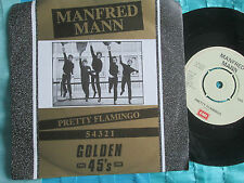 Manfred Mann Pretty Flamingo EMI Golden 45's G45 15 UK 7inch 45 single