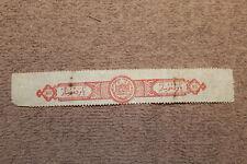 Original WW2 Italian North African Colony Tax Label