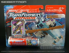 CYCLONUS +  CRUMPLEZONE Mini-Con Transformers Armada Unicron Trilogy 2002 New