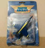 E** Toyway fighter aircraft F18 Blue Angels Diecast model Aeroplane plane