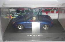 Cartrix 0202-a Slot car Porsche Boxster Cabriolet Bleu MB