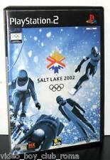 SALT LAKE 2002 GIOCO USATO BUONO STATO SONY PS2 EDIZIONE ITALIANA PAL PG800