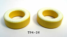 T94-26 Iron Powdered Toroid Cores: Lots of 2