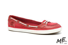 New Timberland Earthkeepers Deering Ballerina Women Boat Shoes Sz5.5 (MSRP $110)