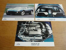 JAGUAR XK 180 CONCEPT PRESS PHOTOS x 3 Brochure Connected  jm