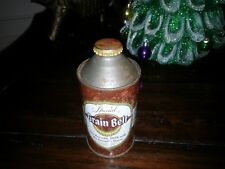 """GRAIN BELT Cone Top Beer Can """"Not Over 3.2% Alcohol"""" Minn. Brewing, MN Nice Cap"""