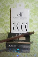 e.l.f.Essentials Eyebrow Stencil Kit Reusable Brow Shape Applicator+EYEBROW LIGH