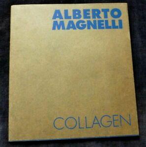 ALBERTO MAGNELLI Collagen  1977 GERMAN ART EXHIBITION CATALOGUE